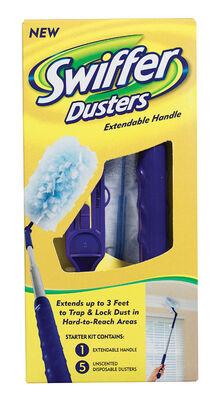 Swiffer 360 Fiber 11-3/8 in. W x 3 in. L Duster Extender 3 pk
