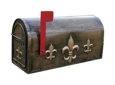 Ll Home 20-3/4 in. L x 9-3/4 in. W Metal Mailbox