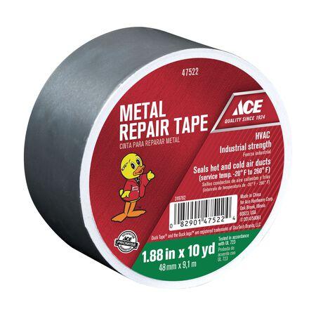 Ace Metal Repair Tape 1.88 in. W x 10 yd. L Silver