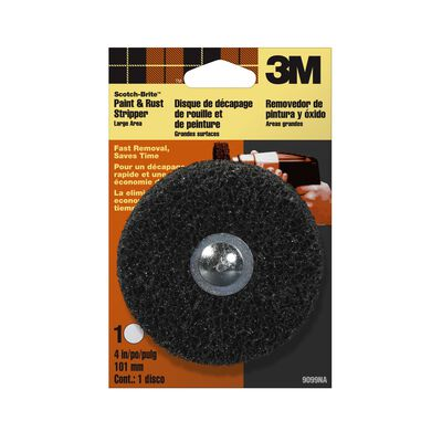 3M 4 in. Dia. Non-Woven Paint and Rust Stripper