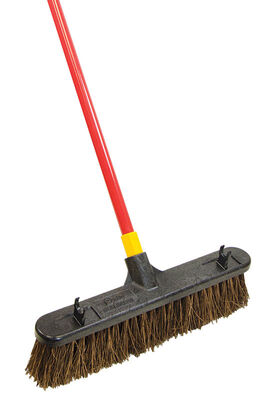 Ace Rough Surface Push Broom 18 in. W x 60 in. L x 3 in. L