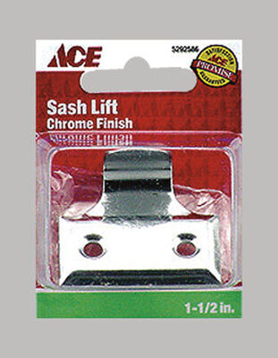 Ace 1.5 in. L Universal Sash Chrome Chrome 2
