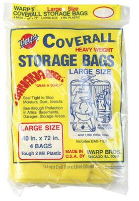 Warp's Large Storage Bag 40 in. H x 40 in. W x 72 in. D