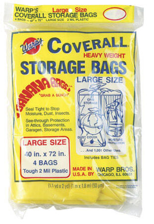 Warp's Large Storage Bag 40 in. H x 40 in. W x 72 in. D