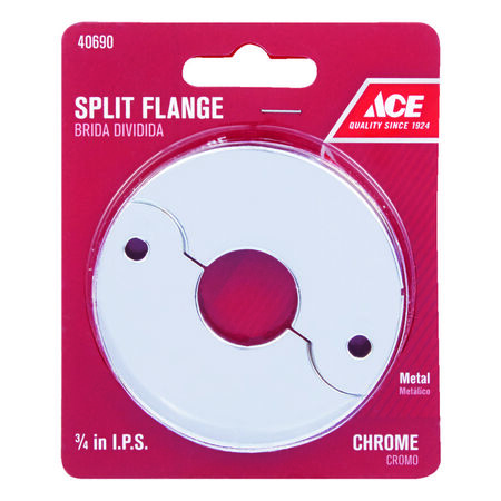 Ace 3/4 in. Brass Split Flange