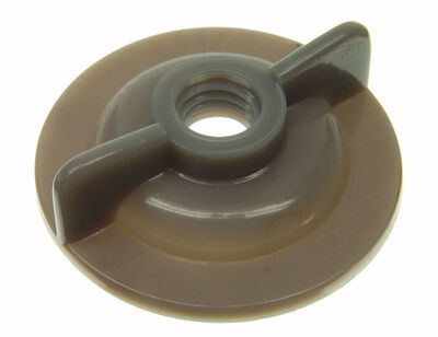Danco Plastic Faucet Locknut 3/8 in. Dia.