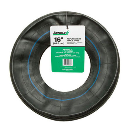 Arnold Wheelbarrow Inner Tube 16 in. Dia. 500 lb. Butyl Rubber