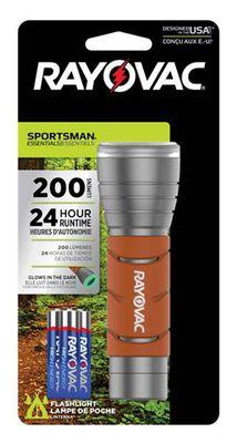 Rayovac SPORTSMAN ESSENTIALS 200 lumens Flashlight LED AAA Orange