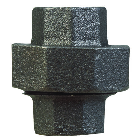 B & K 3/4 in. Dia. x 3/4 in. Dia. FPT To FPT Black Malleable Iron Union