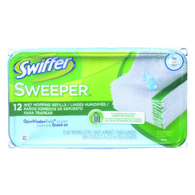 Swiffer Sweeper Mop Refill Cloth 12 pk
