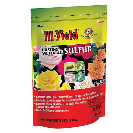 Hi-Yield Powder Sulfur 4 lb.
