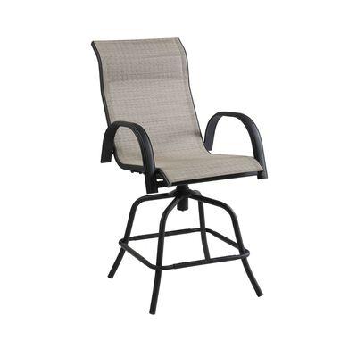 Living Accents Black Kensington Swivel Chair