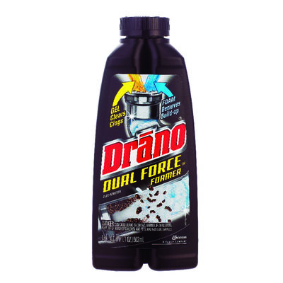 Drano Dual Force Gel and Foam Clog Remover 17 oz.