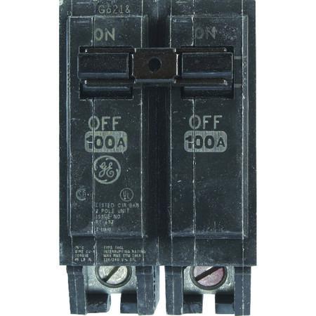 GE Q-Line Double Pole 100 amps Circuit Breaker