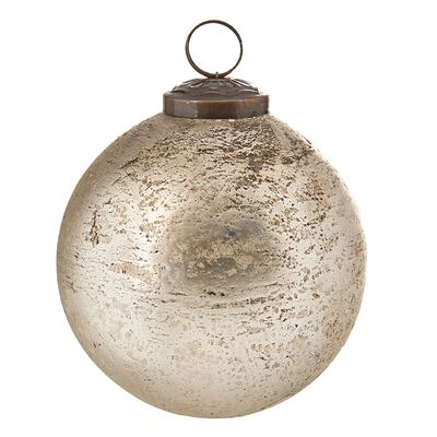 "4"" Antique Ball Ornament"