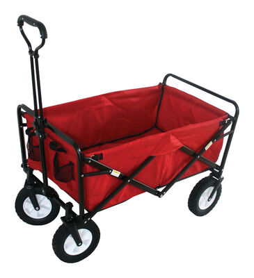 Mac Sports Polyester Utility Cart 150 cu. ft.