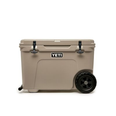 YETI Tundra Haul Roller Cooler 45 cans Tan