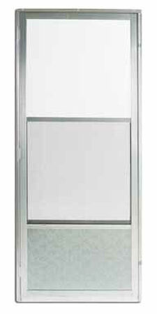 Croft Self-Storing Storm Door Self-Storing Imperial Style 161 80 in. x 36 in. Aluminum Left 36 in. 8