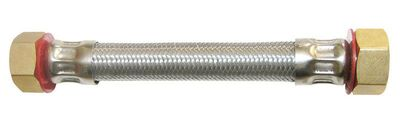 Ace 3/4 in. FIP x 3/4 in. Dia. FIP Stainless Steel 12 in. Supply Line