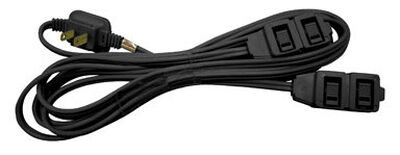Ace Indoor Extension Cord 12 ft. L Black