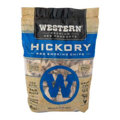 Western Hickory Wood Smoking Chips 2-1/4 lb.
