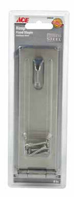 Ace Stainless Steel Fixed Staple Safety Hasp 6 in. L