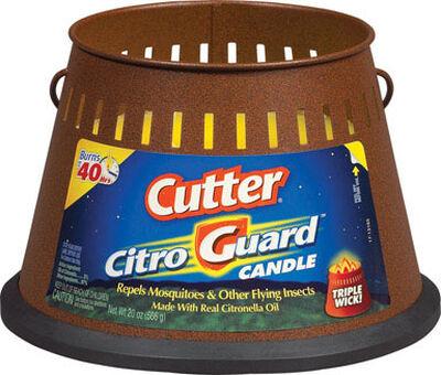Cutter Citro Guard Citronella Oil Candle 20 oz.