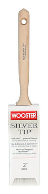 Wooster Silver Tip 2 in. W Flat Polyester Paint Brush