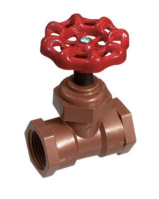 King 1/2 in. x 1/2 in. Stop Valve Celcon Acetal Copolymer