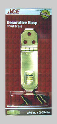 Ace 1 Decorative Hasp