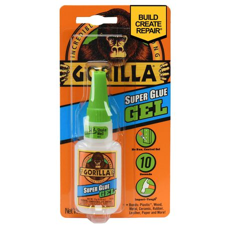 Gorilla Super Glue Gel .53 oz.