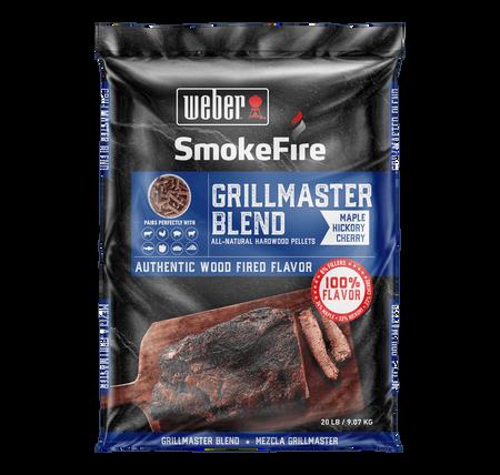 Weber GrillMaster Blend All-Natural Hardwood Pellets