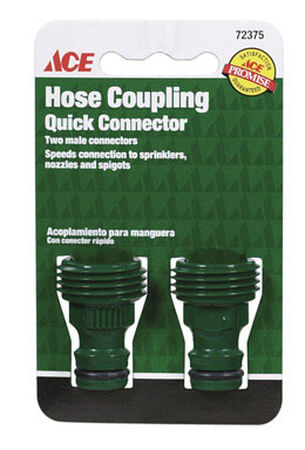Ace Plastic Quick Connector Coupling Male
