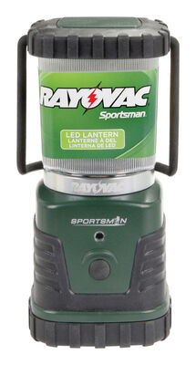 Rayovac 1 LED Plastic Lantern D Green/Black