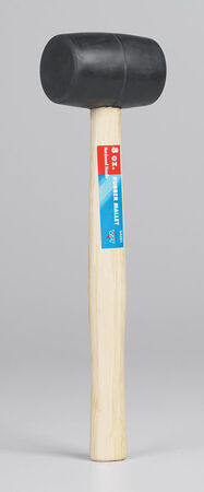 Steel Grip 8 oz. Soft Face Hardwood Mallet Rubber