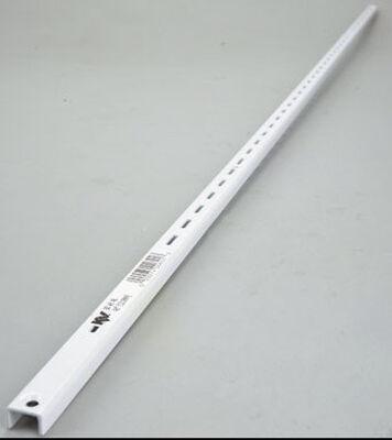 Knape & Vogt Steel White 16 Ga. Standard Shelf Bracket 48 in. L