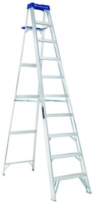 10 ft Louisville AS2110 Aluminum Step Ladder, Type I, 250 lb Load Capacity