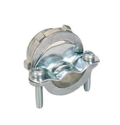 Gampak Sigma Non-metallic Cable Connector Silver 3/8 in. Dia. 100 pk