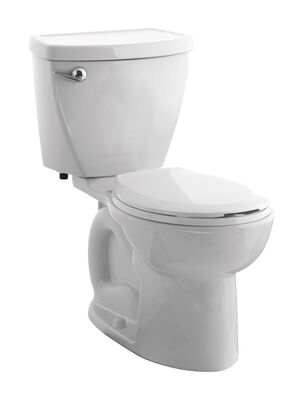 American Standard Cadet 3 Round Complete Toilet 1.3 gal. White