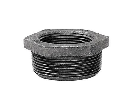 B & K 1 in. Dia. x 3/4 in. Dia. MPT To FPT Galvanized Malleable Iron Hex Bushing