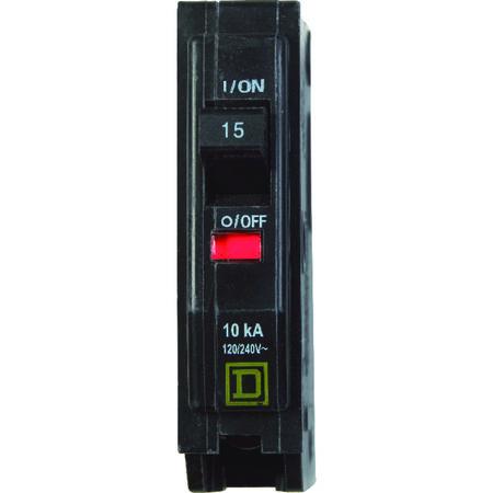 Square D QO Single Pole 15 amps Circuit Breaker