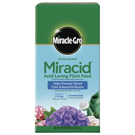 Miracle-Gro Miracid Plant Food For Acid Loving Plants 4 lb.