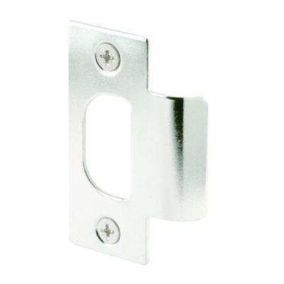 Mag Security Replacement T- Strike 1-1/8 in. 2-3/4 ft. Chrome Used on Wood or Metal Jambs with most