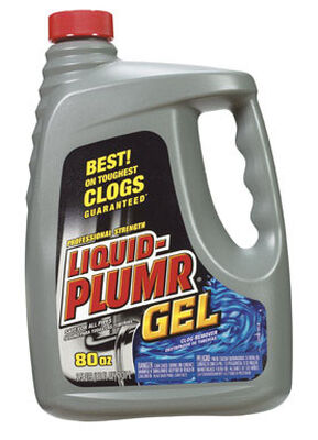 Liquid-Plumr Full Clog Destroyer Clog Remover Gel 80 oz.