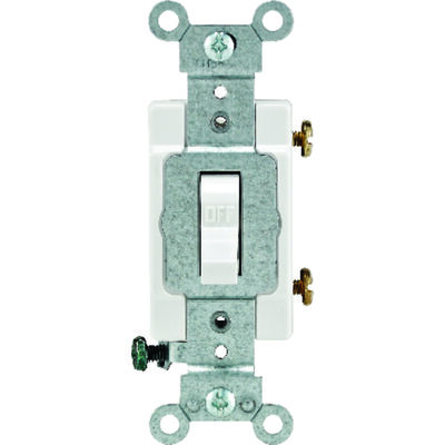 Leviton Commercial 15 amps Toggle Switch Single Pole