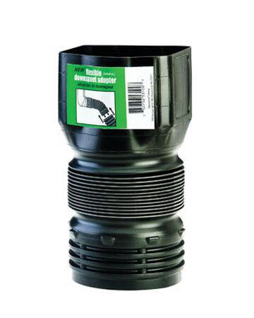 Flex-Drain 3 in. 4 in. Dia. Downspout Adapter
