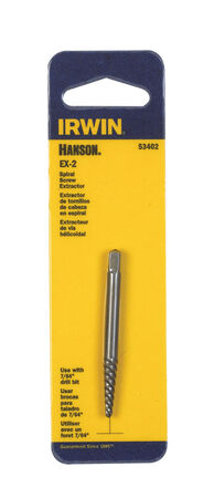Irwin Hanson EX-2 Spiral Screw Extractor