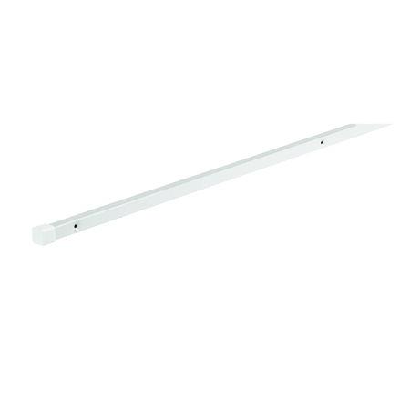 Rubbermaid 1/2 in. L x 84 in. H x 1/2 in. W Shelf Support Pole White