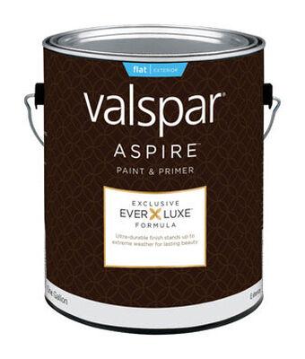 Valspar Aspire Exterior Acrylic Latex Paint & Primer White 1 gal.