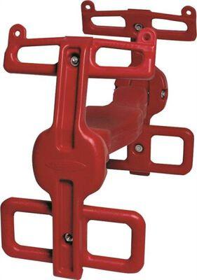 Air Rider, 2 Contoured Seat, 210 Lb, Plastic/Metal